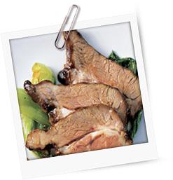 Lammhals vom Grill