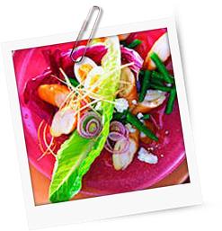 Schillerlocken-Salat