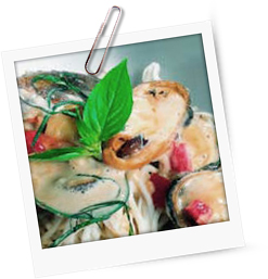 Kantoneser Nudeln mit Muscheln und Curry