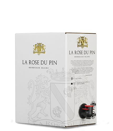 LA ROSE DU PIN Blanc 2018 – 5Liter