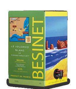 BÉSINET Le Volcanic Blanc 2014 – 10Liter