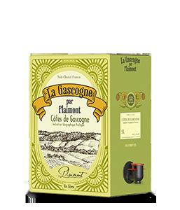 PLAIMONT Gascogne Weiss 2014 – 5Liter