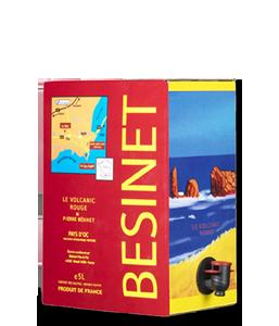 BÉSINET Le Volcanic Rouge 2014 – 5Liter