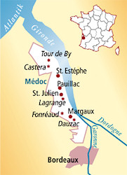Saint-Estèphe Frankreich