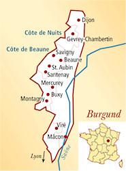 Montagny Premier Cru Frankreich