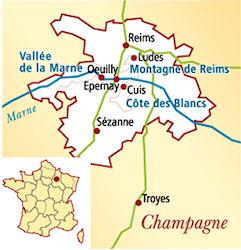 Champagne Cuis 1er Cru Frankreich