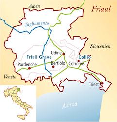 Venezia Giulia Italien