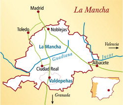 La Mancha Spanien