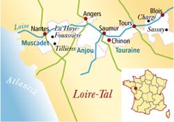 Touraine Frankreich