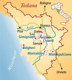 Toscano Italien